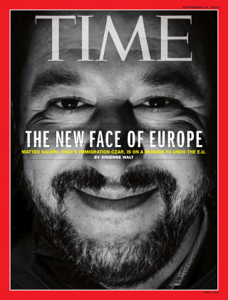 Time Magazine Europe September 24th, 2018
