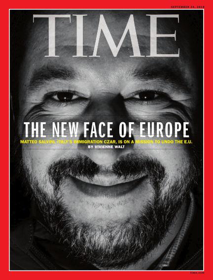 Time Magazine Europe September 15, 2018 00:00