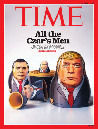 Time Magazine Europe October 1st, 2018