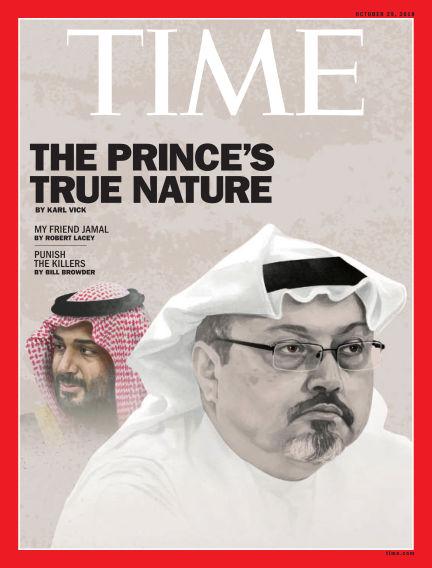 Time Magazine Europe October 20, 2018 00:00
