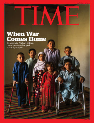 Time Magazine Europe Nov  5, 2018