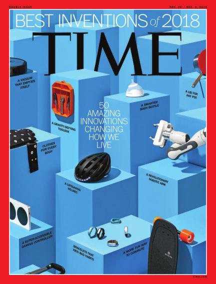 Time Magazine Europe November 17, 2018 00:00