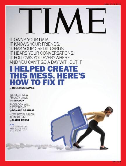 Time Magazine Europe January 19, 2019 00:00