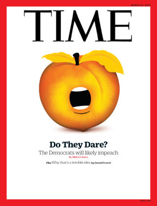 Time Magazine Europe March 25th, 2019