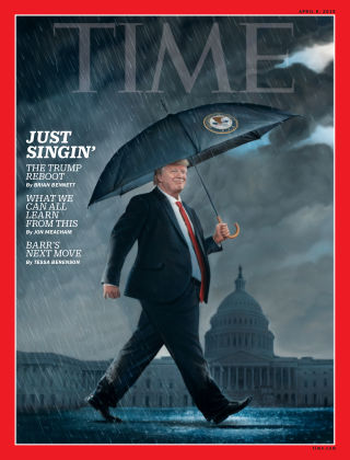 Time Magazine Europe April 8th, 2019