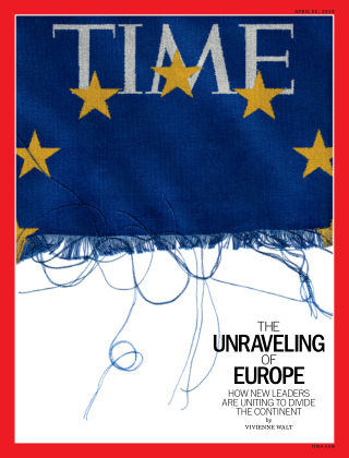 Time Magazine Europe Apr 22, 2019