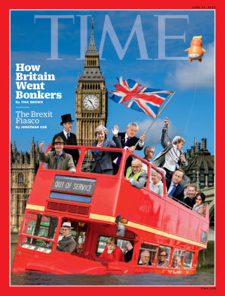 Time Magazine Europe June 8th, 2019