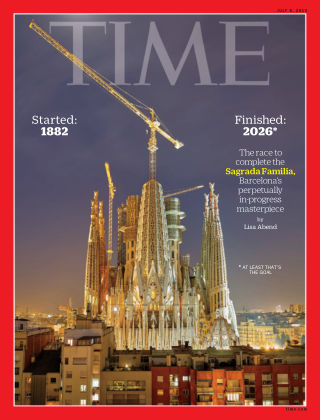 Time Magazine Europe July 8th, 2019