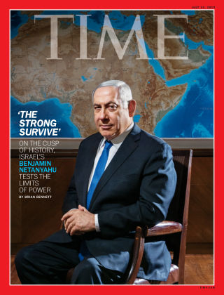 Time Magazine Europe July 22nd, 2019