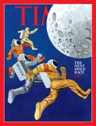 Time Magazine Europe July 29th, 2019