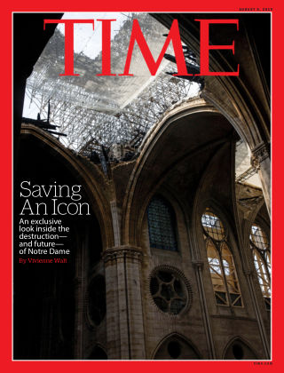 Time Magazine Europe Aug 5th, 2019