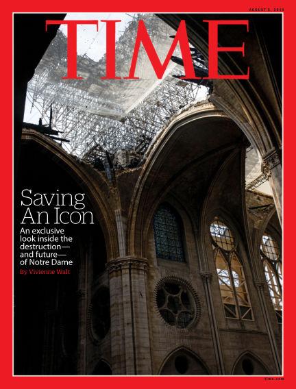 Time Magazine Europe July 27, 2019 00:00