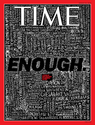Time Magazine Europe August 19th, 2019