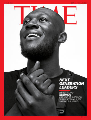 Time Magazine Europe 21st October 2019