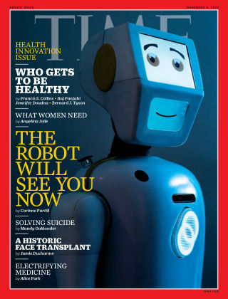 Time Magazine Europe 26th October 2019