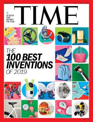 Time Magazine Europe December 2nd, 2019