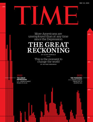 Time Magazine Europe 18th May 2020