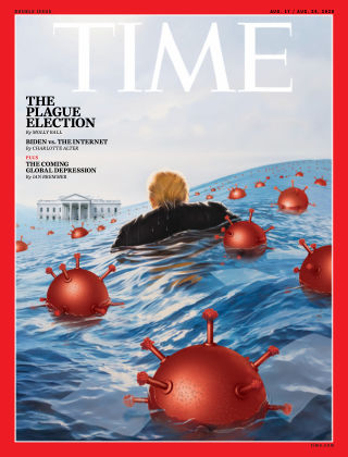 Time Magazine Europe 10th August 2020