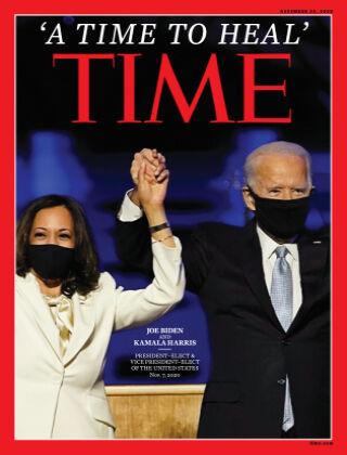 Time Magazine Europe 23rd November 2020