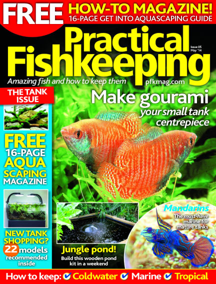 Practical Fishkeeping April 16, 2014 00:00