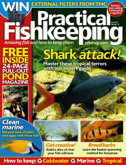 Practical Fishkeeping March 19, 2014 00:00