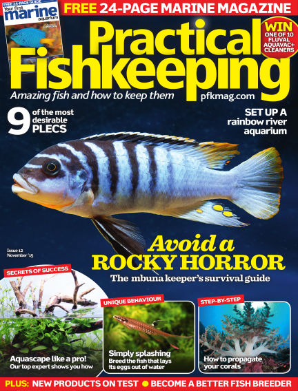 Practical Fishkeeping September 30, 2015 00:00