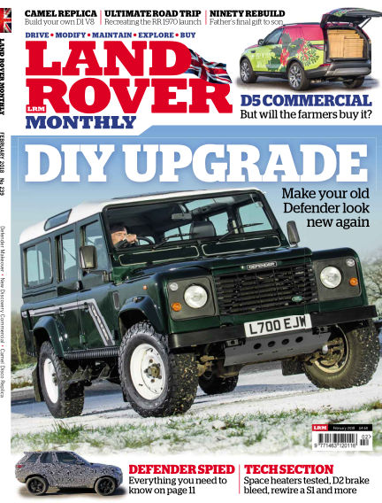 Land Rover Monthly January 10, 2018 00:00
