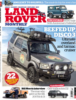 Land Rover Monthly May18