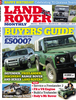 Land Rover Monthly July18