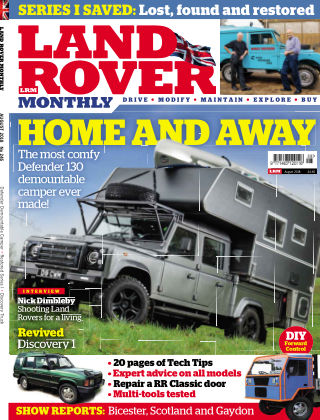 Land Rover Monthly Aug18