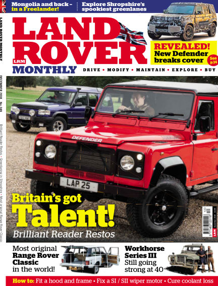 Land Rover Monthly October 17, 2018 00:00