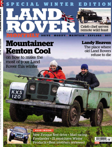 Land Rover Monthly December 12, 2018 00:00
