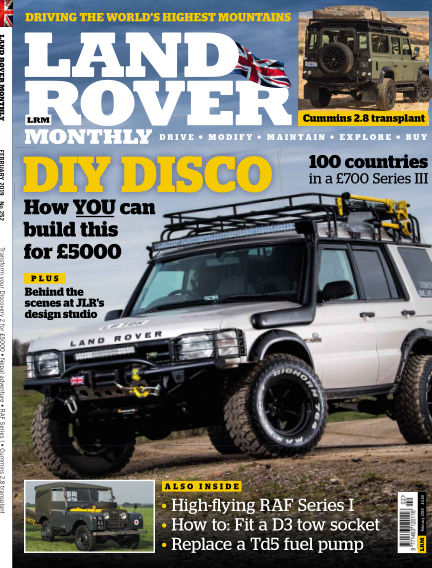 Land Rover Monthly January 09, 2019 00:00