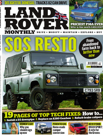 Land Rover Monthly June 26, 2019 00:00