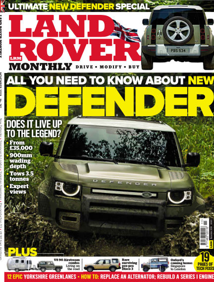 Land Rover Monthly September 18, 2019 00:00