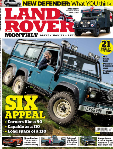 Land Rover Monthly October 16, 2019 00:00