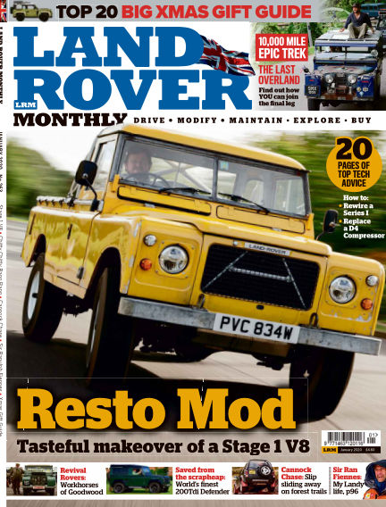 Land Rover Monthly November 13, 2019 00:00