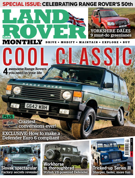 Land Rover Monthly March 04, 2020 00:00