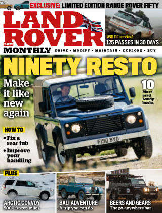 Land Rover Monthly August 2020