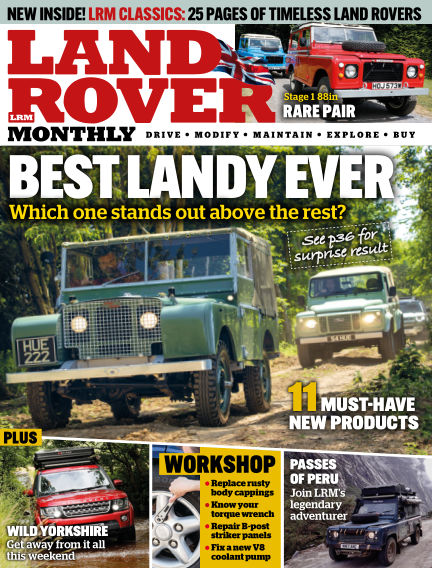 Land Rover Monthly August 19, 2020 00:00