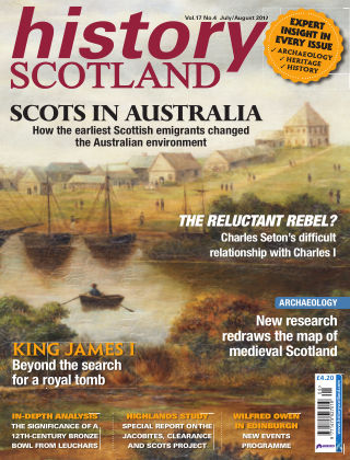History Scotland July-August 2017
