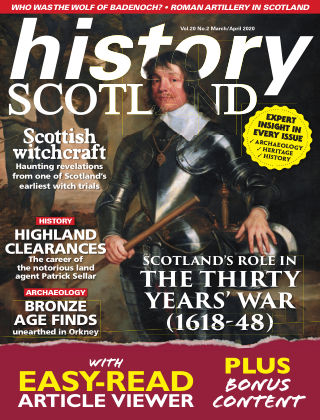 History Scotland MarApr2020