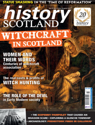 History Scotland July/August 2021