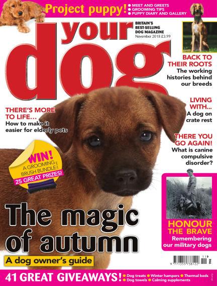 Your Dog Magazine October 05, 2018 00:00
