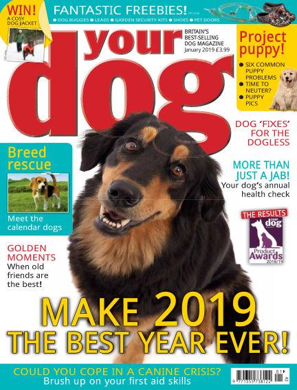 Your Dog Magazine December 07, 2018 00:00