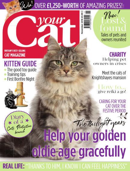 Your Cat Magazine October 15, 2018 00:00