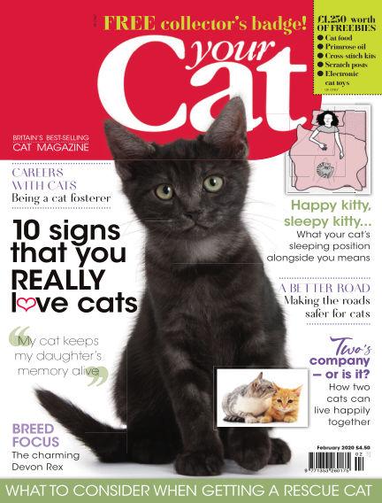 Your Cat Magazine January 15, 2020 00:00