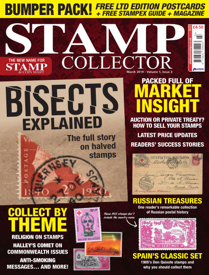 Stamp Collector February 08, 2019 00:00
