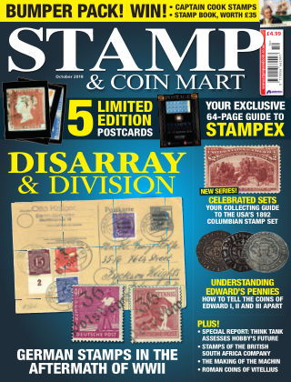 Stamp Collector Oct