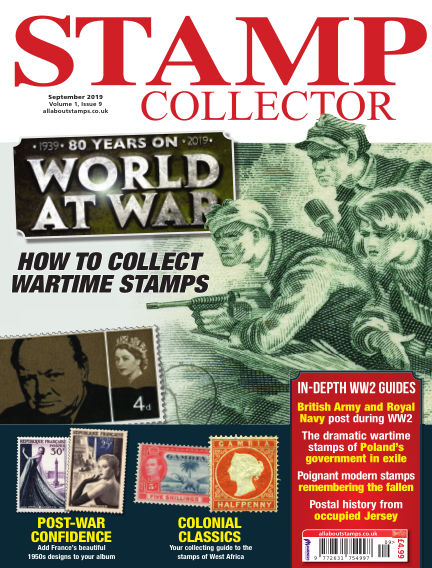 Stamp Collector August 09, 2019 00:00